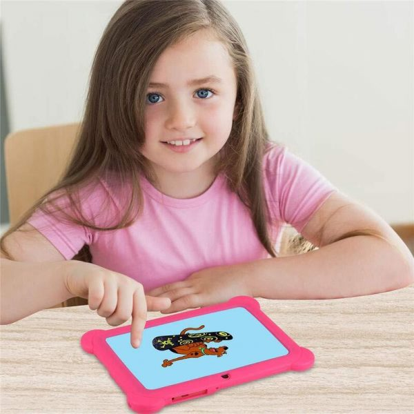"Kids' Android 7"" Touch Screen Tablet with Case_2"