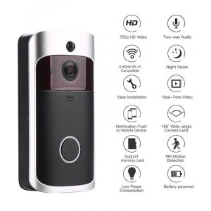 HD Smart WiFi Security Video Doorbell