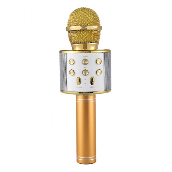 Portable Wireless Karaoke Microphone_0