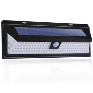Large Weatherproof Solar Sensor 86-LED Lights