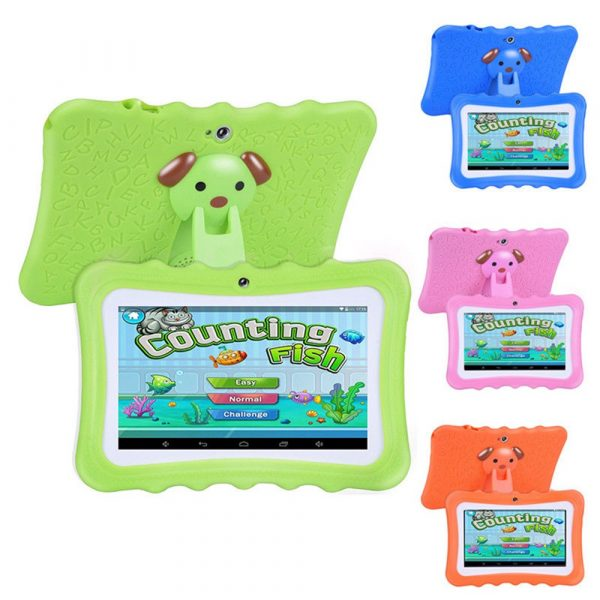 7 inch Children Learning Tablet Android Quad Core_0