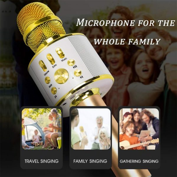 Portable Wireless Karaoke Microphone_3