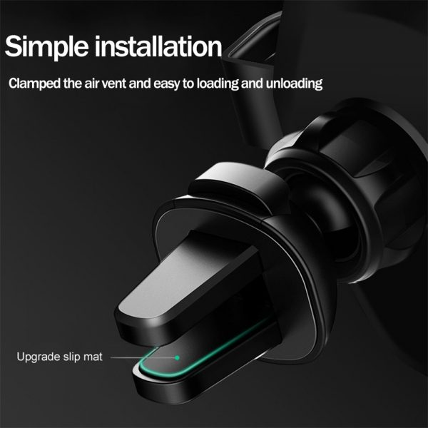 10W QI Wireless Charger Car Mount Holder Stand_2