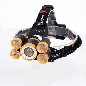 Water Resistant Powerful Camping Head Lamp