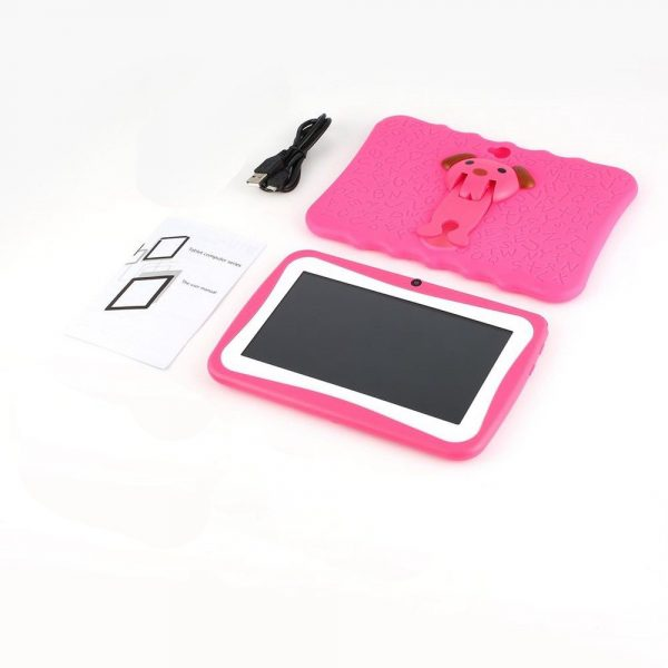 7 inch Children Learning Tablet Android Quad Core_4