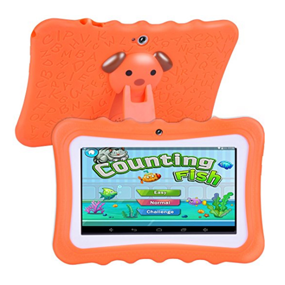 7 inch Children Learning Tablet Android Quad Core_5