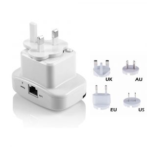 Plug-In Wifi Repeater Range Extender Amplifier
