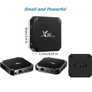 X96 2GB Mini Ultra HD Android TV Box