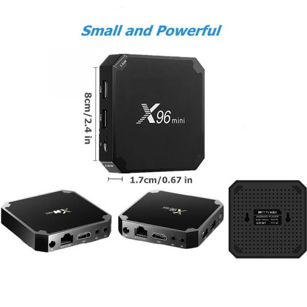 X96 2GB Mini Ultra HD Android TV Box_1
