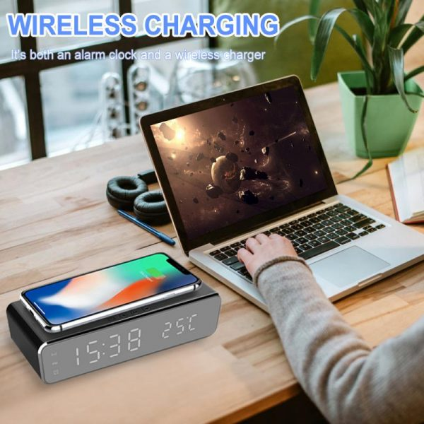 Wireless charger LED temperature alarm_0