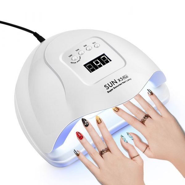 120W LED UV Nail Gel Dryer Curing Lamp_0