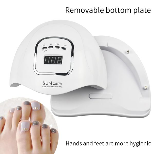 120W LED UV Nail Gel Dryer Curing Lamp_2