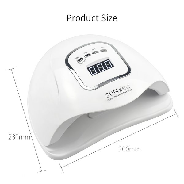 120W LED UV Nail Gel Dryer Curing Lamp_3