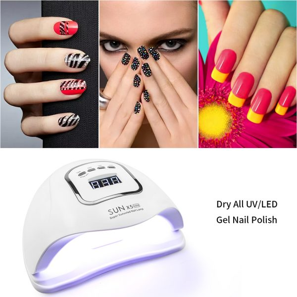 120W LED UV Nail Gel Dryer Curing Lamp_4