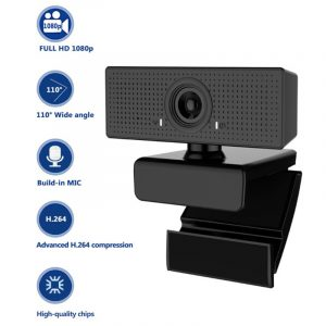C60 HD 1080P Webcam with Built-in Microphone