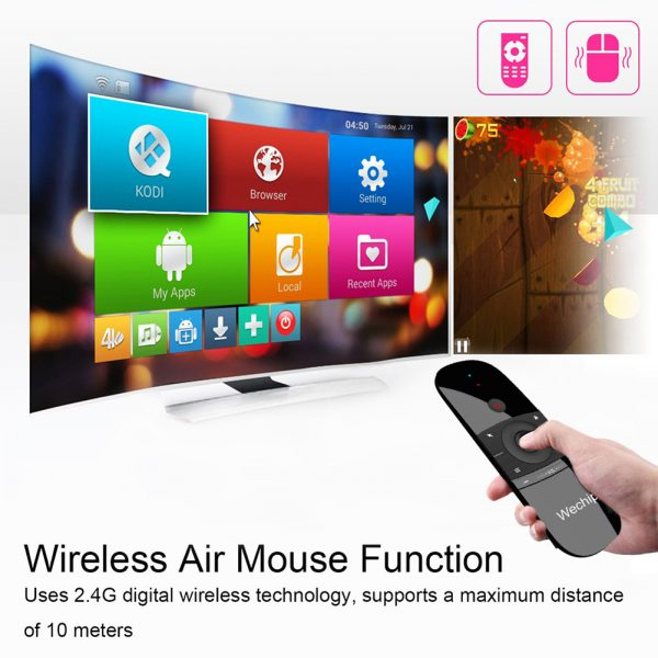 W1 2.4G Air Mouse Wireless Keyboard USB Receiver_4