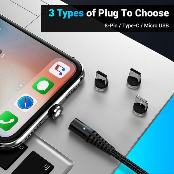 3-in-1 Magnetic Fast Charging USB Cable_5