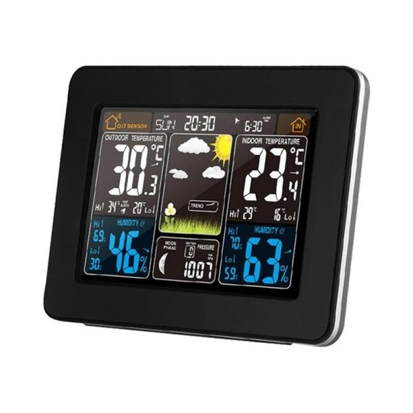 LCD Display Weather Station Alarm Clock_1
