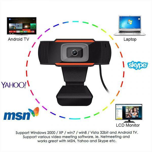 Video recording HD webcam with MIC_5