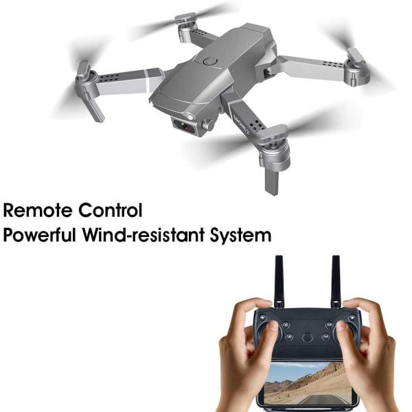 NEW E68 HD Wide Angle 4K WIFI Drone_1