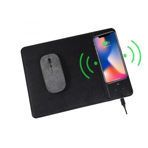 Qi-Enabled Fast Wireless Charging Mouse Pad