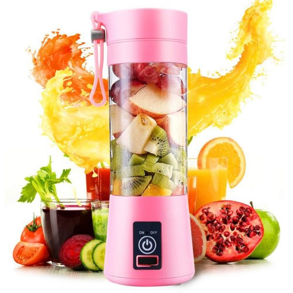 4-Blade Portable Blender Handy Powerful and Colorful_0