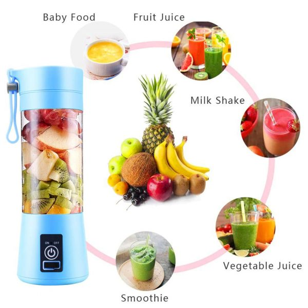 4-Blade Portable Blender Handy Powerful and Colorful_9