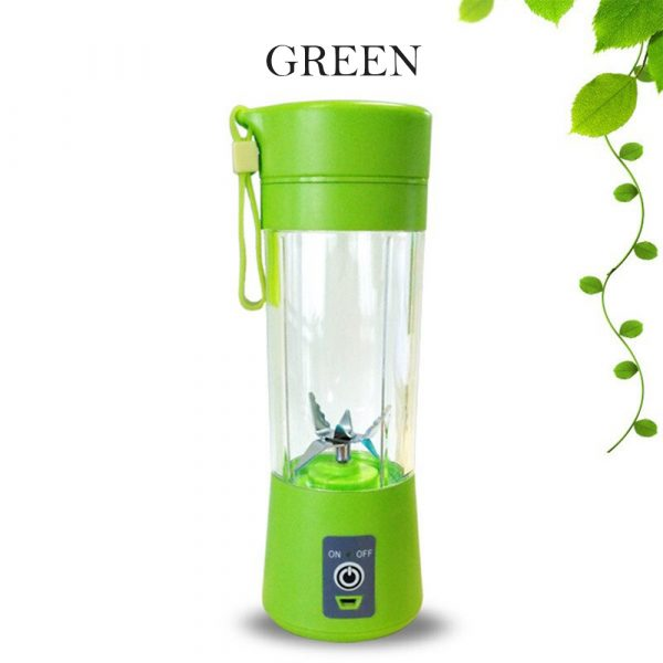 4-Blade Portable Blender Handy Powerful and Colorful_4