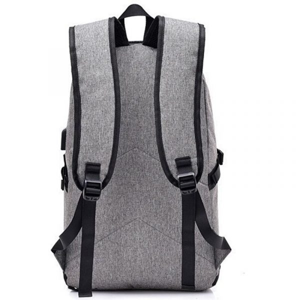 Waterproof Laptop Backpack with USB Port, Anti-theft_2