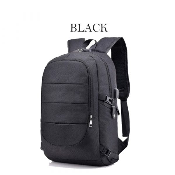 Waterproof Laptop Backpack with USB Port, Anti-theft_4