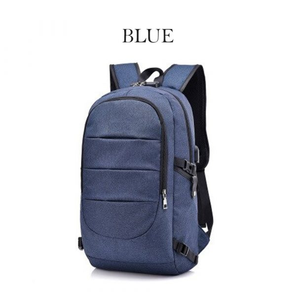 Waterproof Laptop Backpack with USB Port, Anti-theft_5