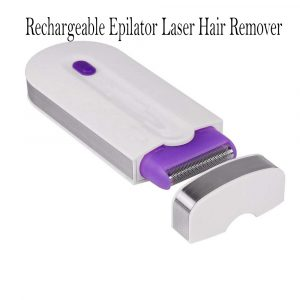 Rechargeable Epilator Laser Hair Remover for Face and Body