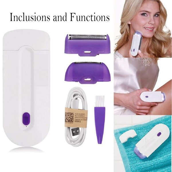 Rechargeable Epilator Laser Hair Remover for Face and Body_3