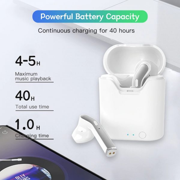 TWS Bluetooth 5.0 Earbuds with Charging Case_4