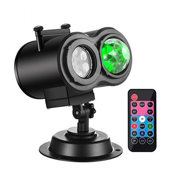 2 in 1 Christmas Holiday Projector Lights with Ocean wave Light 16 Film Options_0