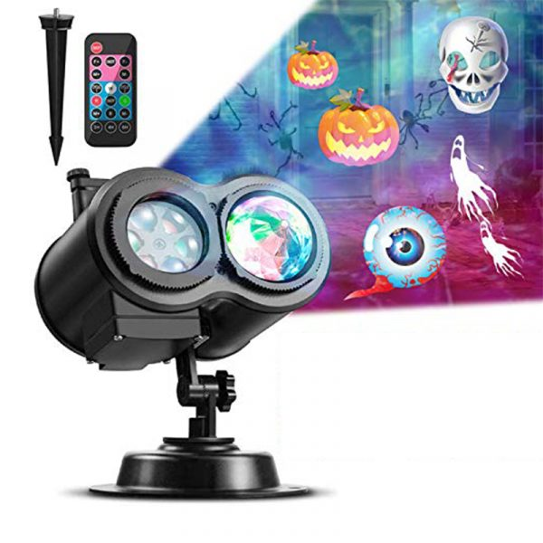 2 in 1 Christmas Holiday Projector Lights with Ocean wave Light 16 Film Options_2