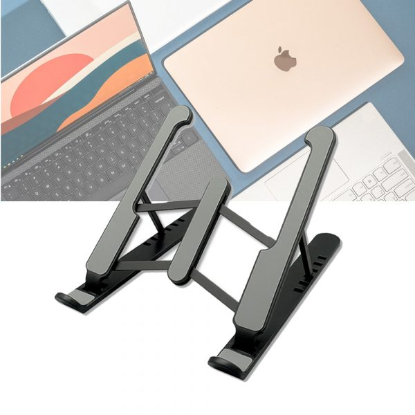 Notebook Computer Stand Anti-Skid Heat Dissipation Base Foldable Lifting Stand_7