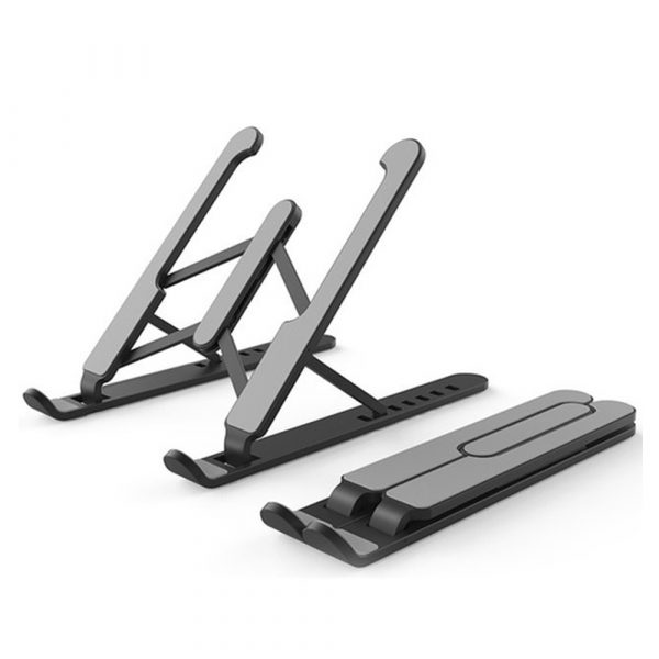 Notebook Computer Stand Anti-Skid Heat Dissipation Base Foldable Lifting Stand_0