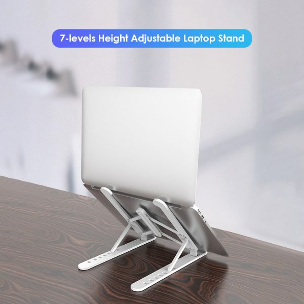 Notebook Computer Stand Anti-Skid Heat Dissipation Base Foldable Lifting Stand_12