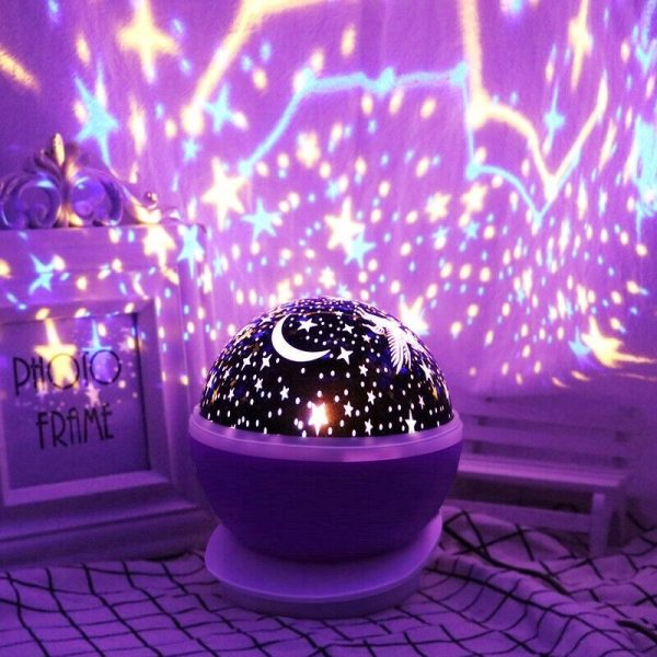 Unicorn Starry Sky Projector in 4 Colors_7