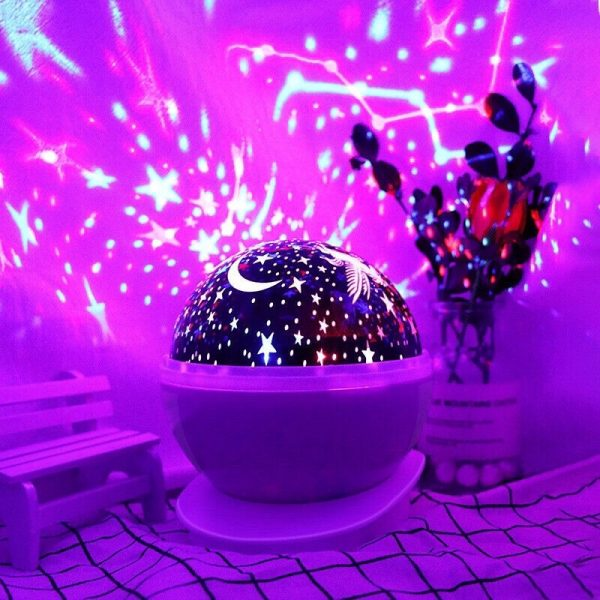 Unicorn Starry Sky Projector in 4 Colors_8