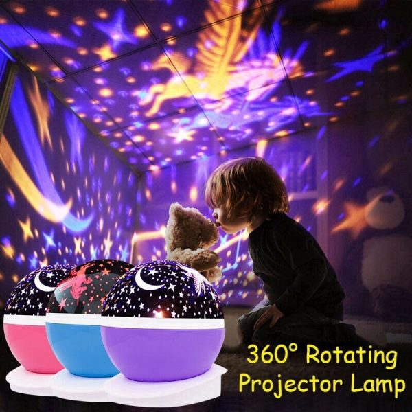 Unicorn Starry Sky Projector in 4 Colors_2