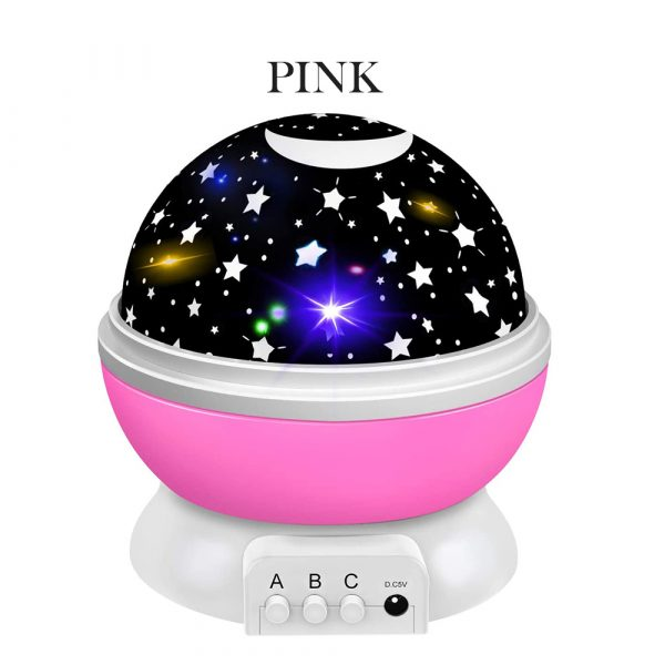 Unicorn Starry Sky Projector in 4 Colors_11