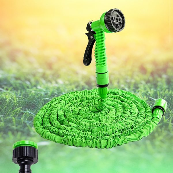 High Pressure Expandable Retractable Garden and Car Hose_2