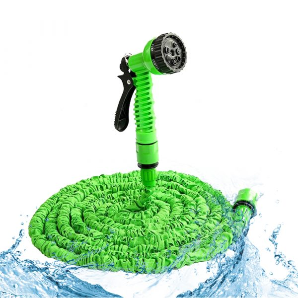 High Pressure Expandable Retractable Garden and Car Hose_0