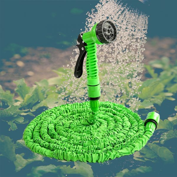 High Pressure Expandable Retractable Garden and Car Hose_4