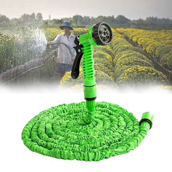 High Pressure Expandable Retractable Garden and Car Hose_5