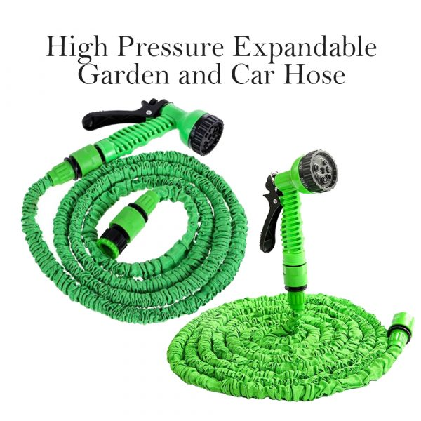High Pressure Expandable Retractable Garden and Car Hose_6