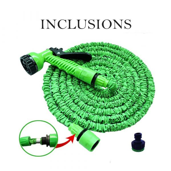 High Pressure Expandable Retractable Garden and Car Hose_9