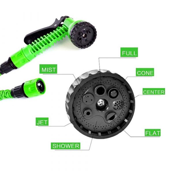 High Pressure Expandable Retractable Garden and Car Hose_1